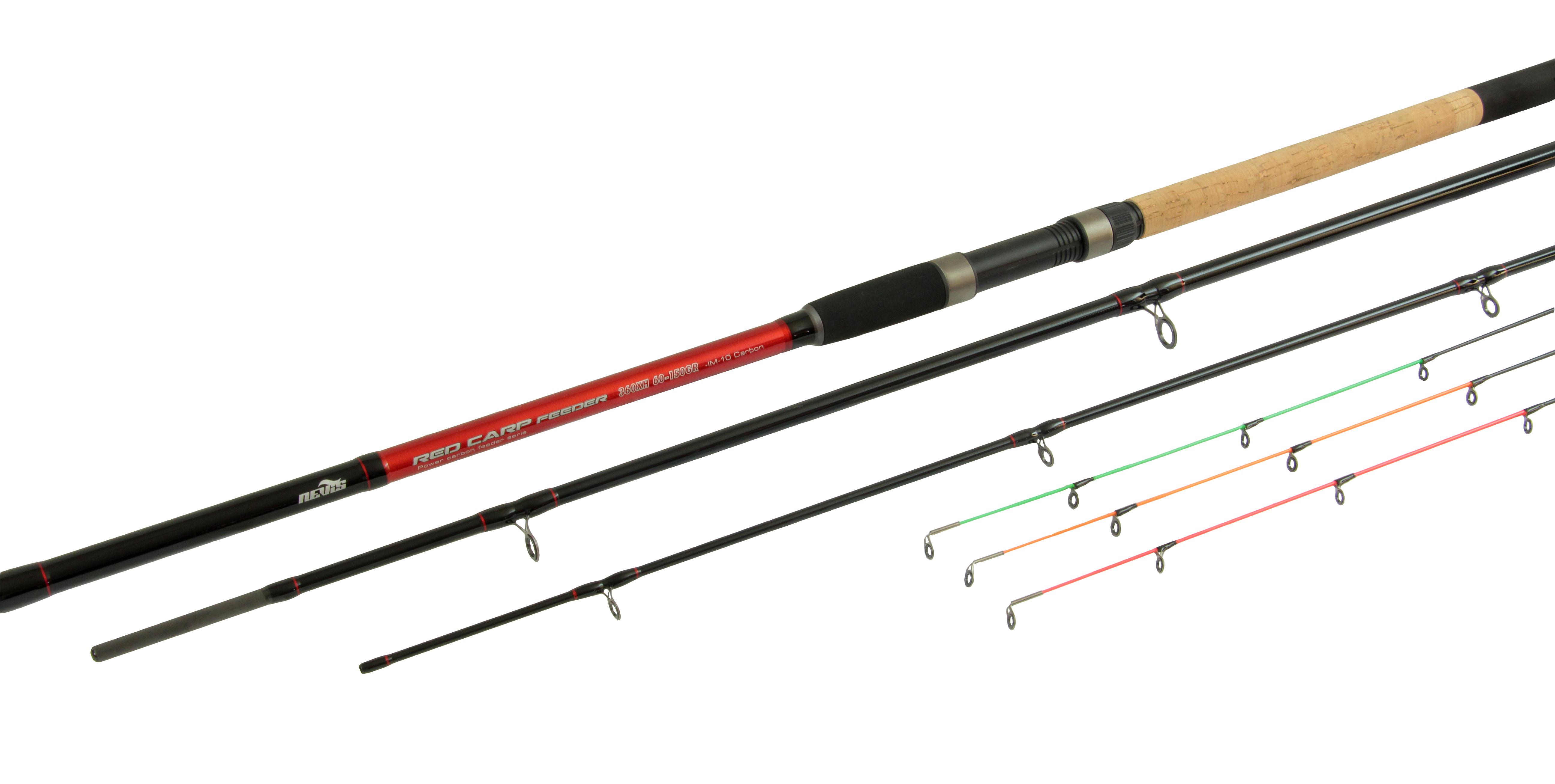 Red Carp Feeder 360 60-150g 3+3