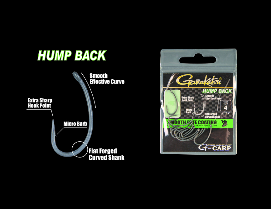 G-Carp Hump Back 10/cs. 6