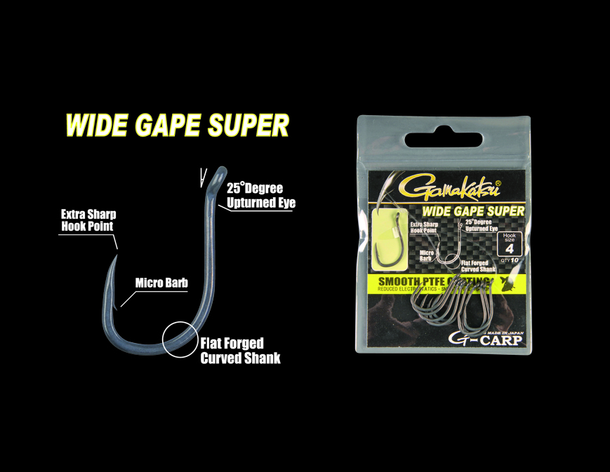 G-Carp Wide Gap Super 10/cs. 12-es