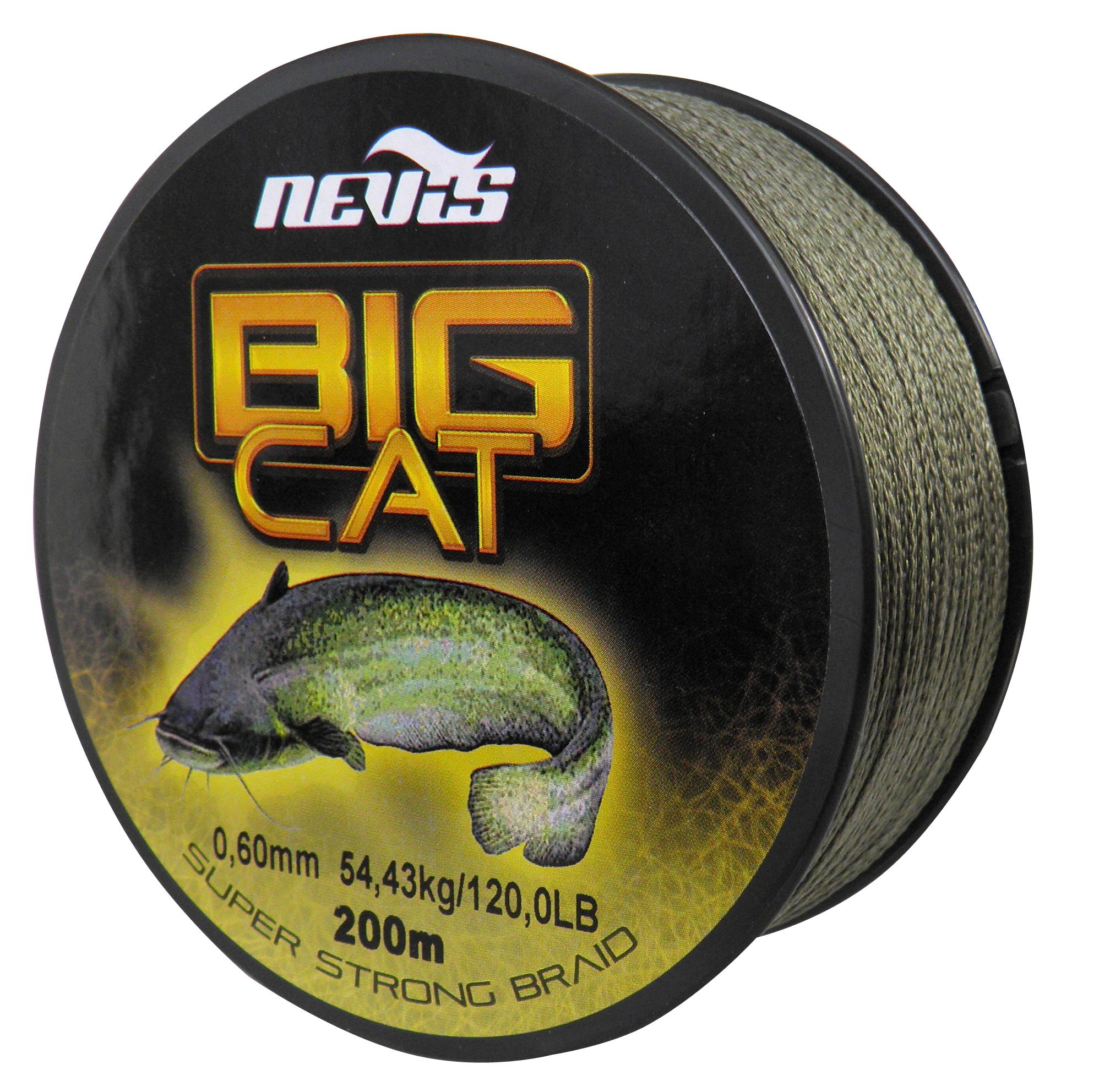 Big Cat Fonott zsinór 200m 0,60