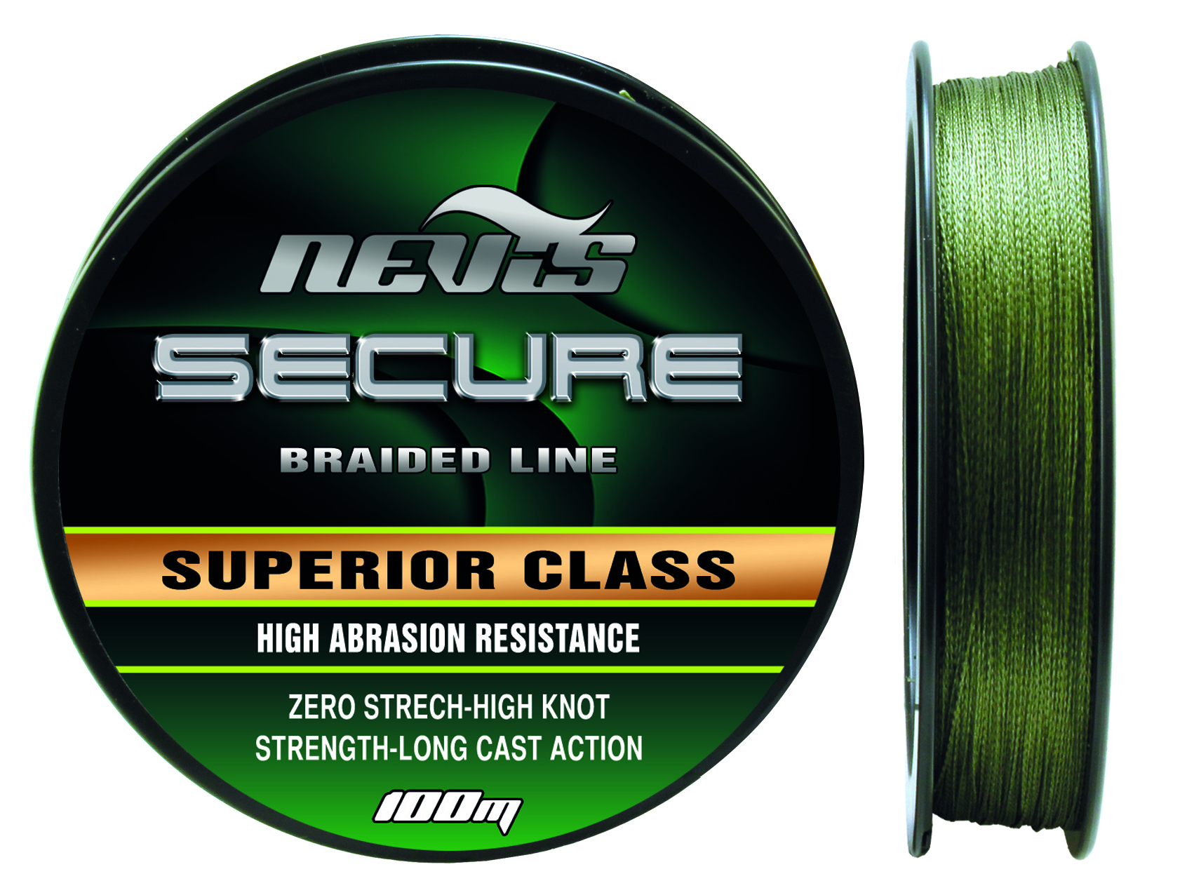 Secure Braided 100m 0,20mm