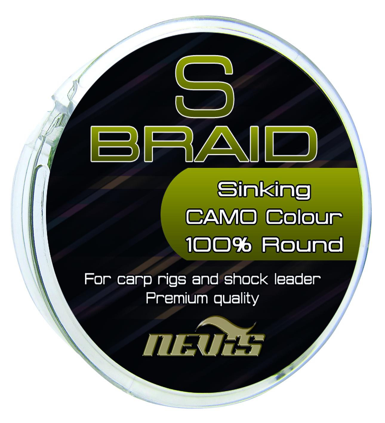 S Braid 15m 0,12mm