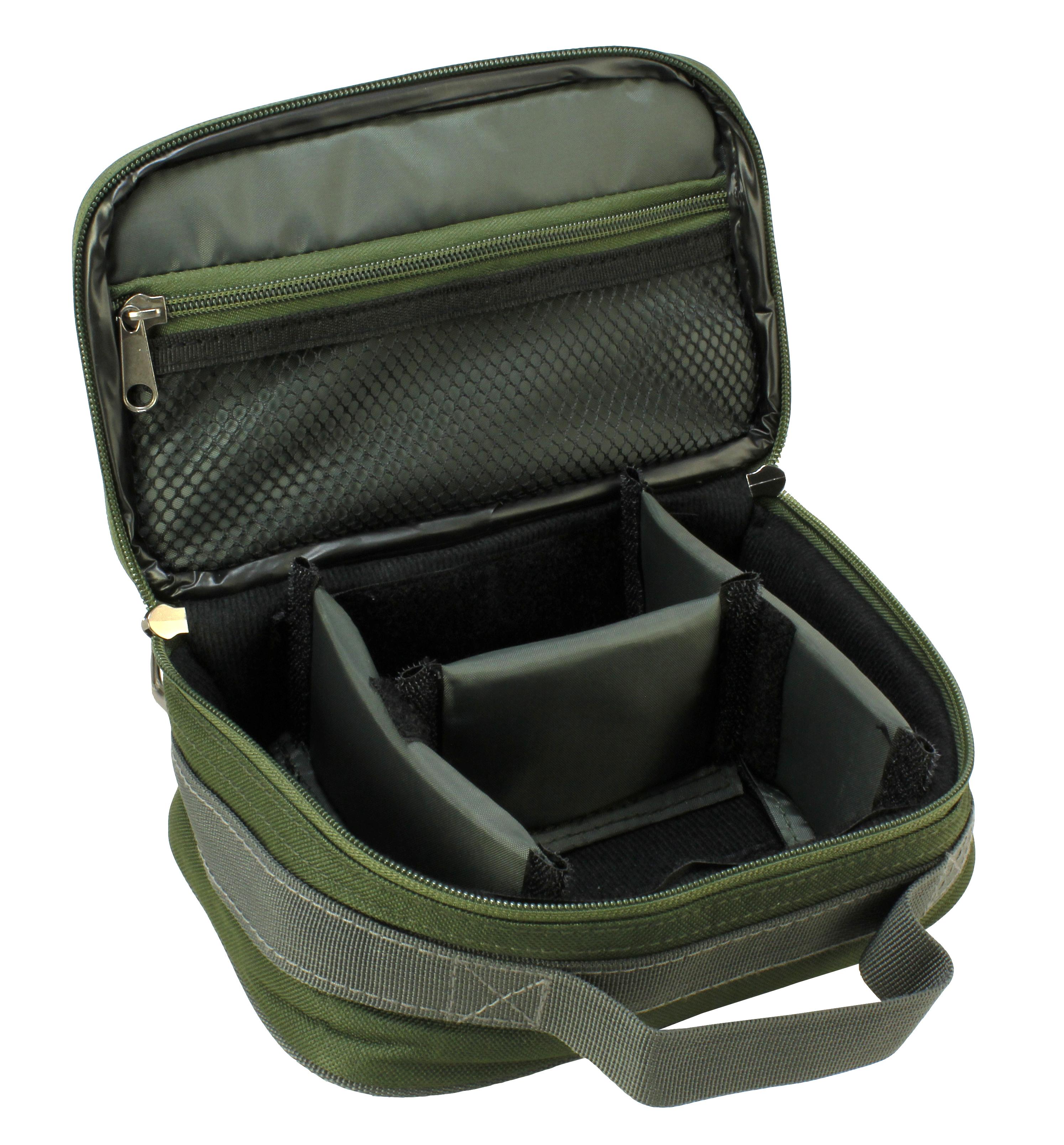 Ólomtartó táska zöld- Carp Academy