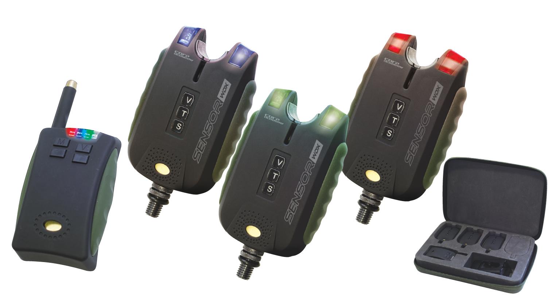 Sensor WDX elektromos kapásjelzõ szett  3+1