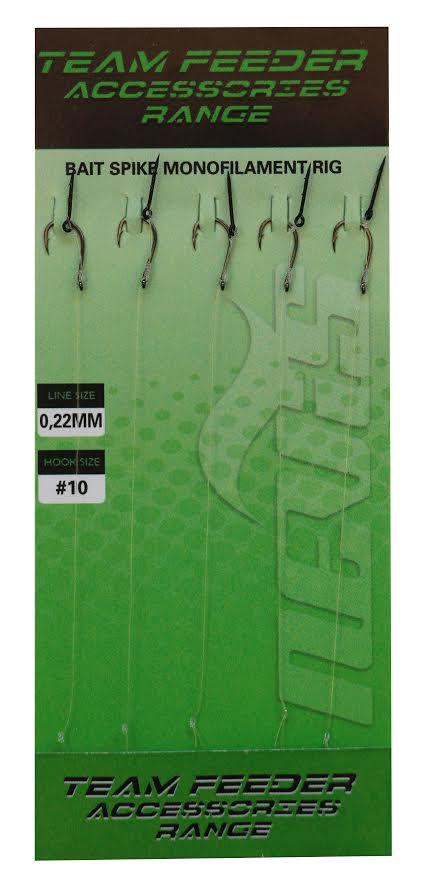 Feeder elõke tüskével monofil zsinóron 6-os  5db/cs