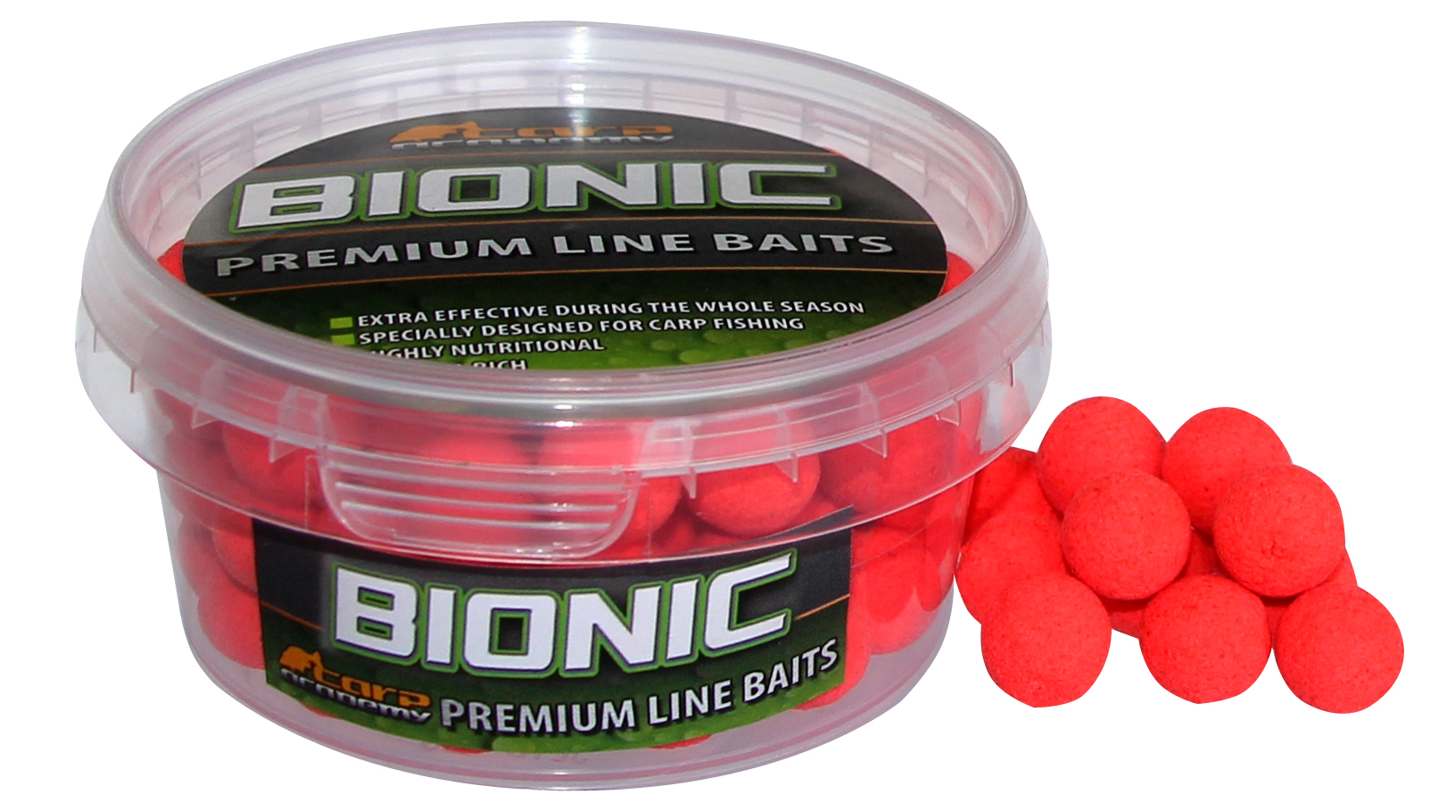 Fluo-pop up boilies 50g 12mm Strawberry