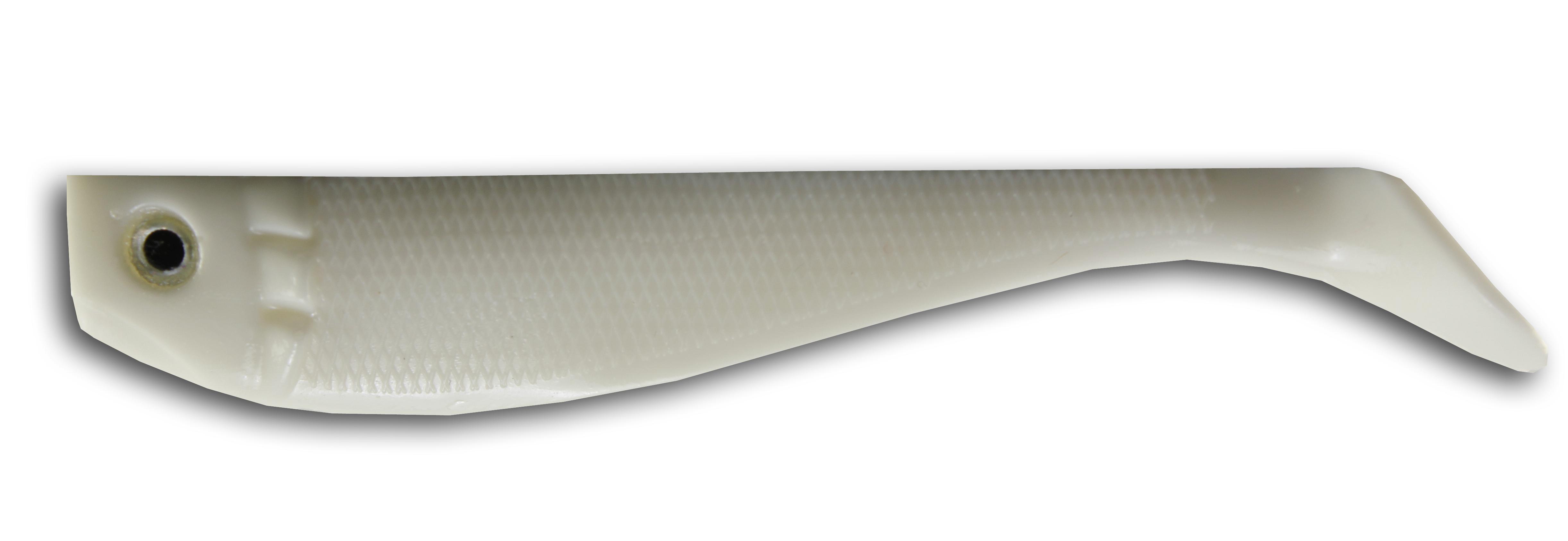 Action Shad gumihal 7cm 6/cs Fehér