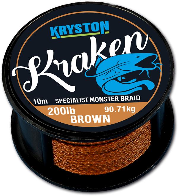 Kraken Monster Braid 200Lbs 10m Brown