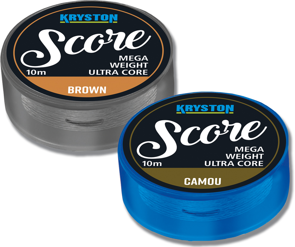 Score Heavyweight Leadcore 45Lbs 10m Brown