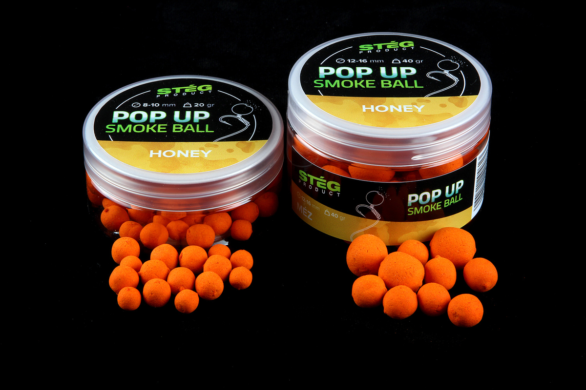 Stég Product Pop Up Smoke Ball 12-16 mm HONEY 40gr