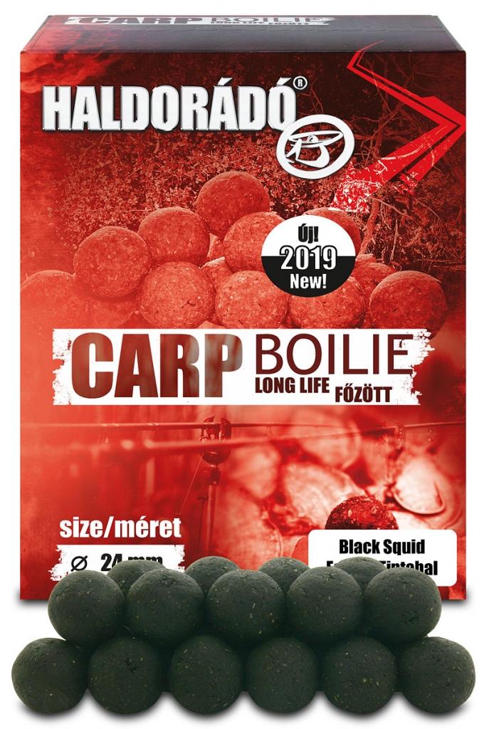 Carp Boilie fõzött - Fekete Tintahal 24 mm