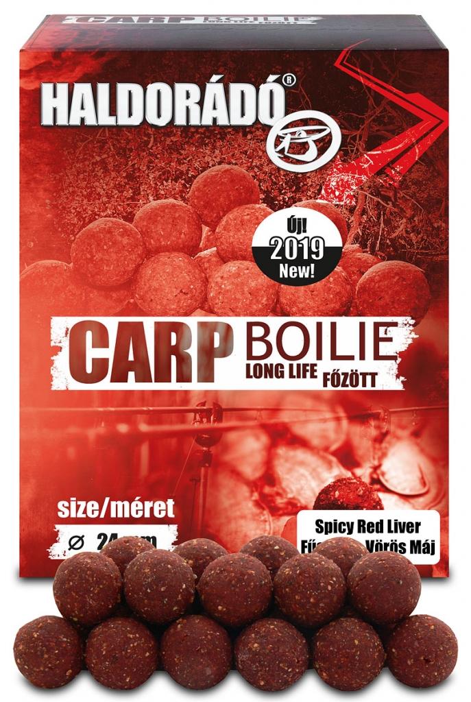 Carp Boilie fõzött - Fûszeres Vörös Máj 24 mm