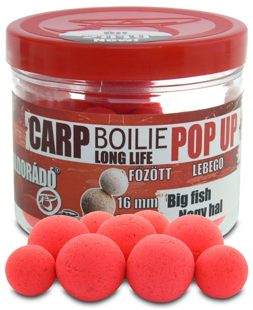 Pop Up fõzött csalizó bojli - Nagy hal 16-20 mm