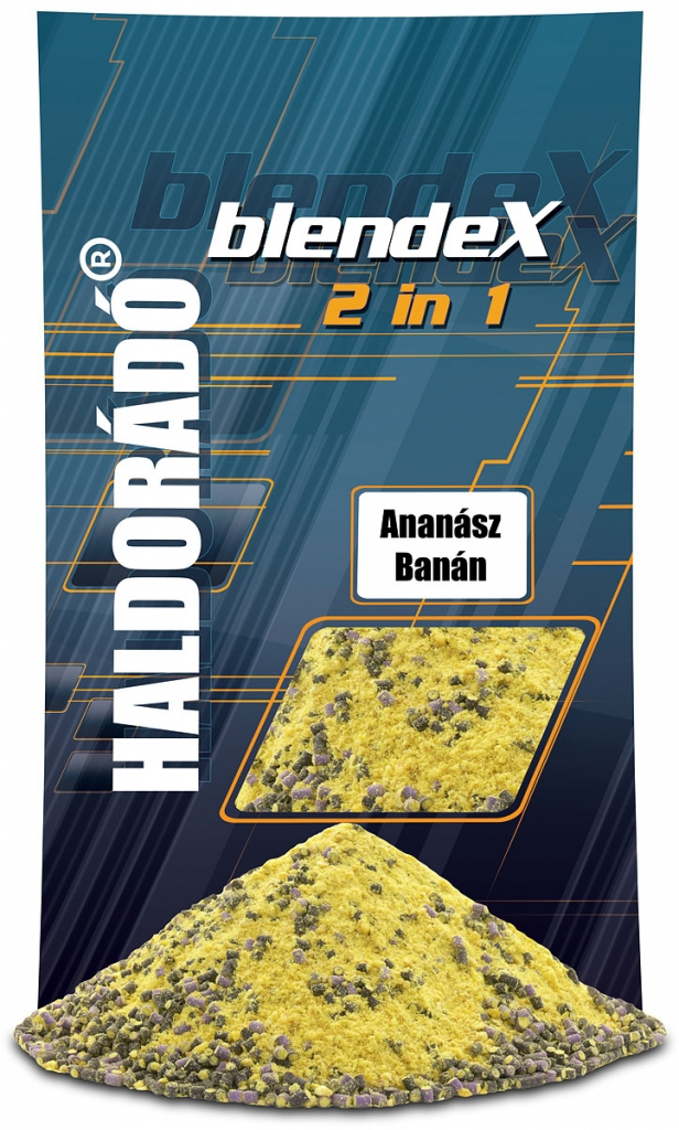 BlendeX 2 in 1 - Ananász + Banán