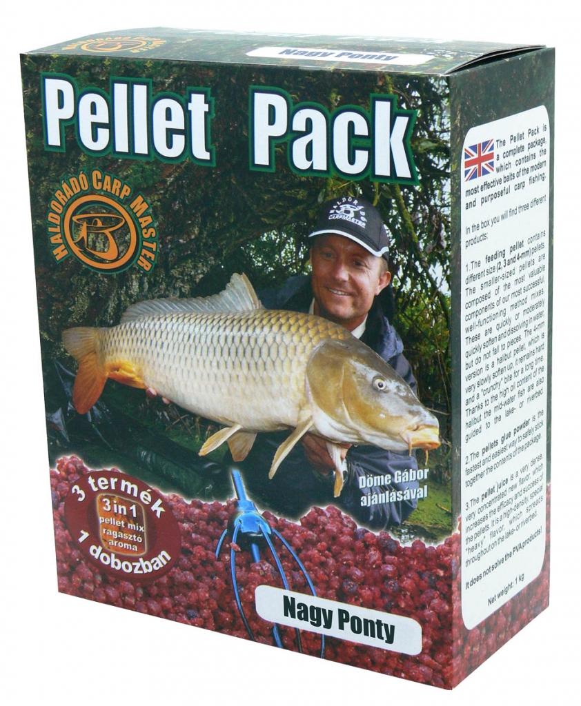 Pellet Pack - Nagy Ponty