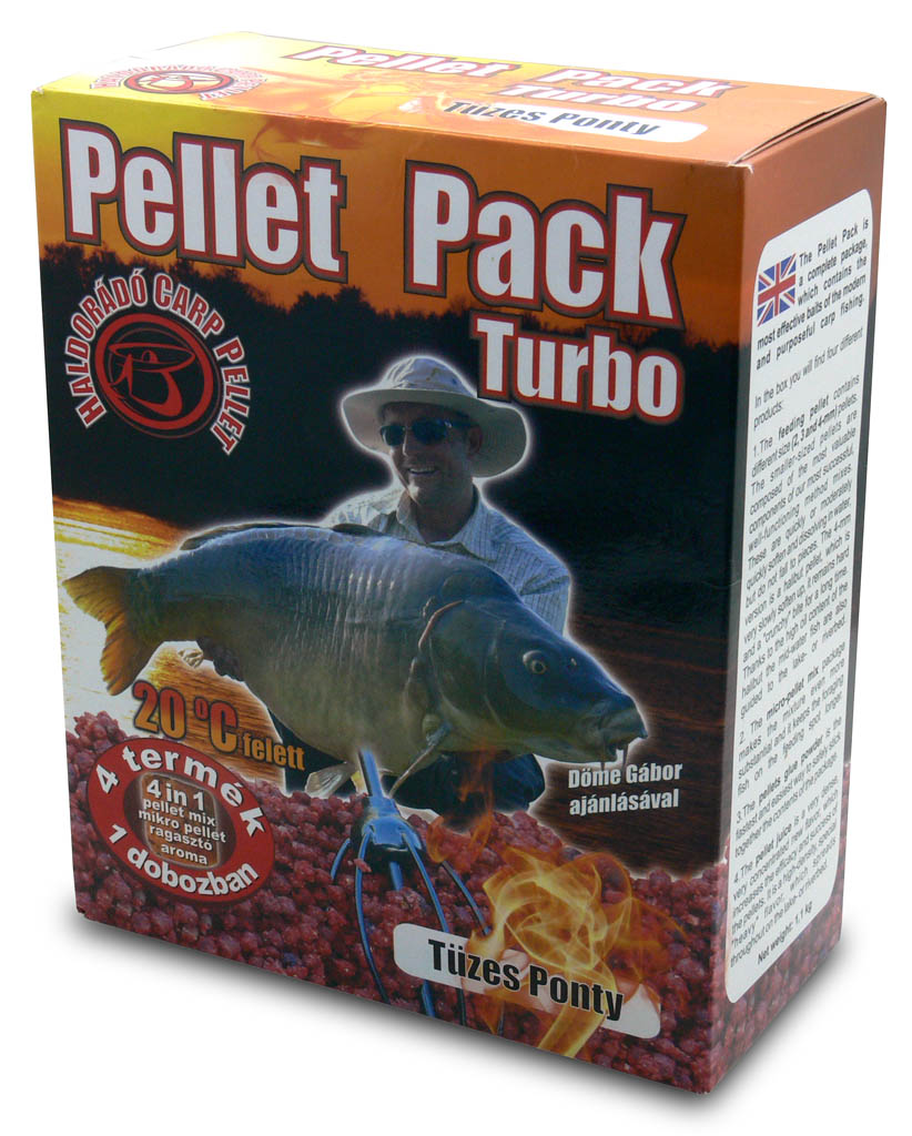 Pellet Pack Turbo - Tüzes Ponty