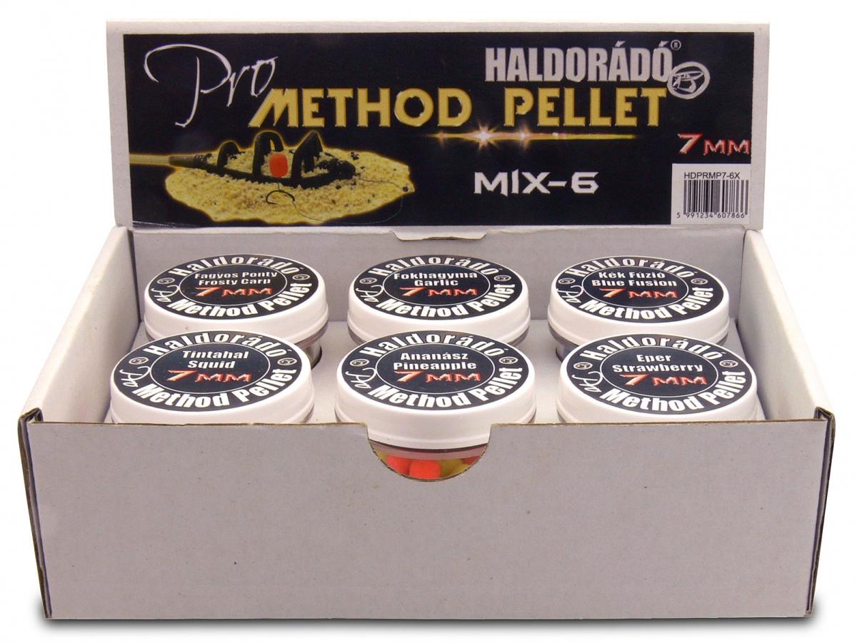 Pro Method Pellet 7 mm - MIX-6 /  6 íz egy dobozban