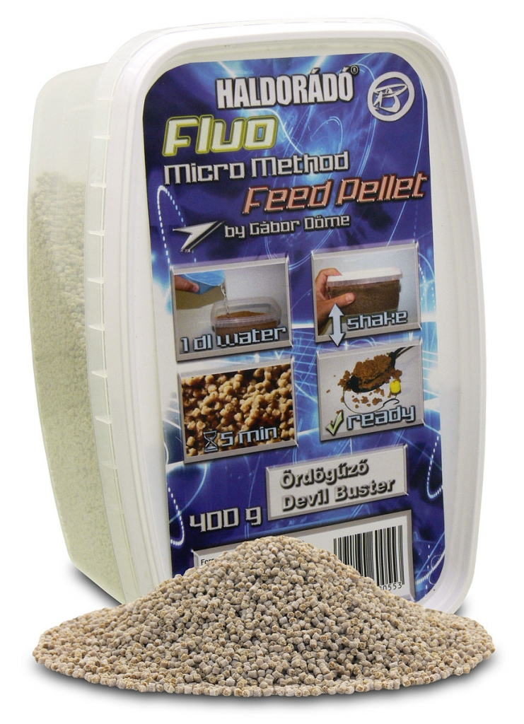 Fluo Micro Method Feed Pellet - Ördögûzõ