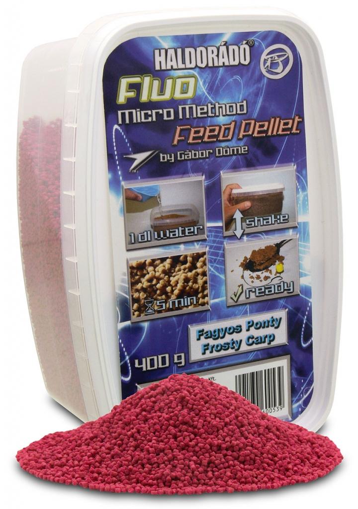 Fluo Micro Method Feed Pellet - Fagyos Ponty
