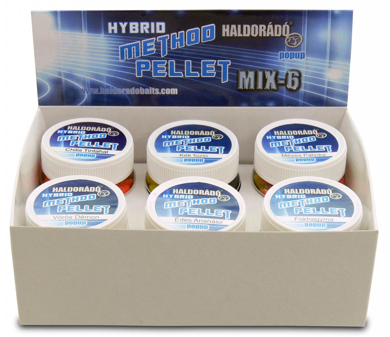 Hybrid Method Pellet - MIX-6 / 6 íz egy dobozban