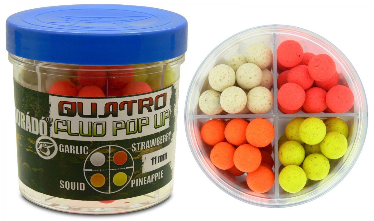 Quatro Fluo Pop Up Boilies 11 mm
