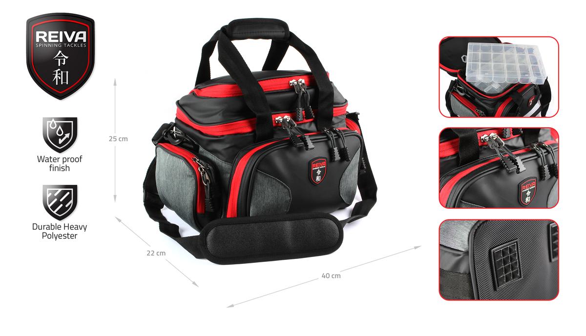 Pergetõ táska 40x22x25cm 4 dobozzal