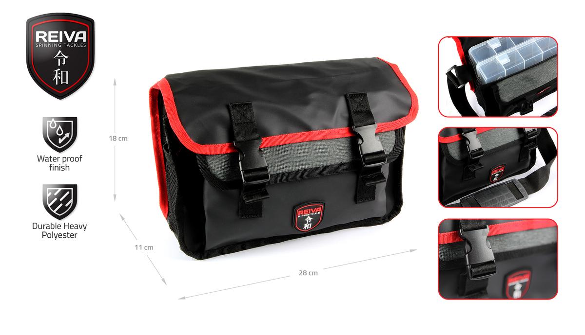 Pergetõ táska  28x11x18cm  2 dobozzal