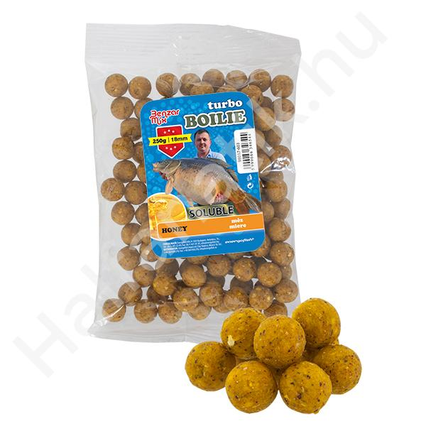 BENZAR TURBO SOLUBLE BOILIE 250G 10MM ANANASZ