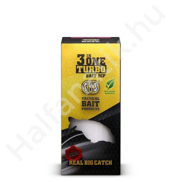 3 in One Turbo Bait Dip Green Crab 80ml -